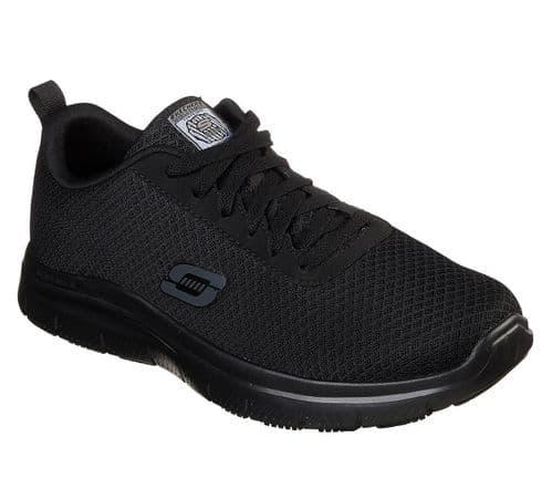 Skechers Flex Advantage - Bendon Sr Mens Occupational Footwear Black